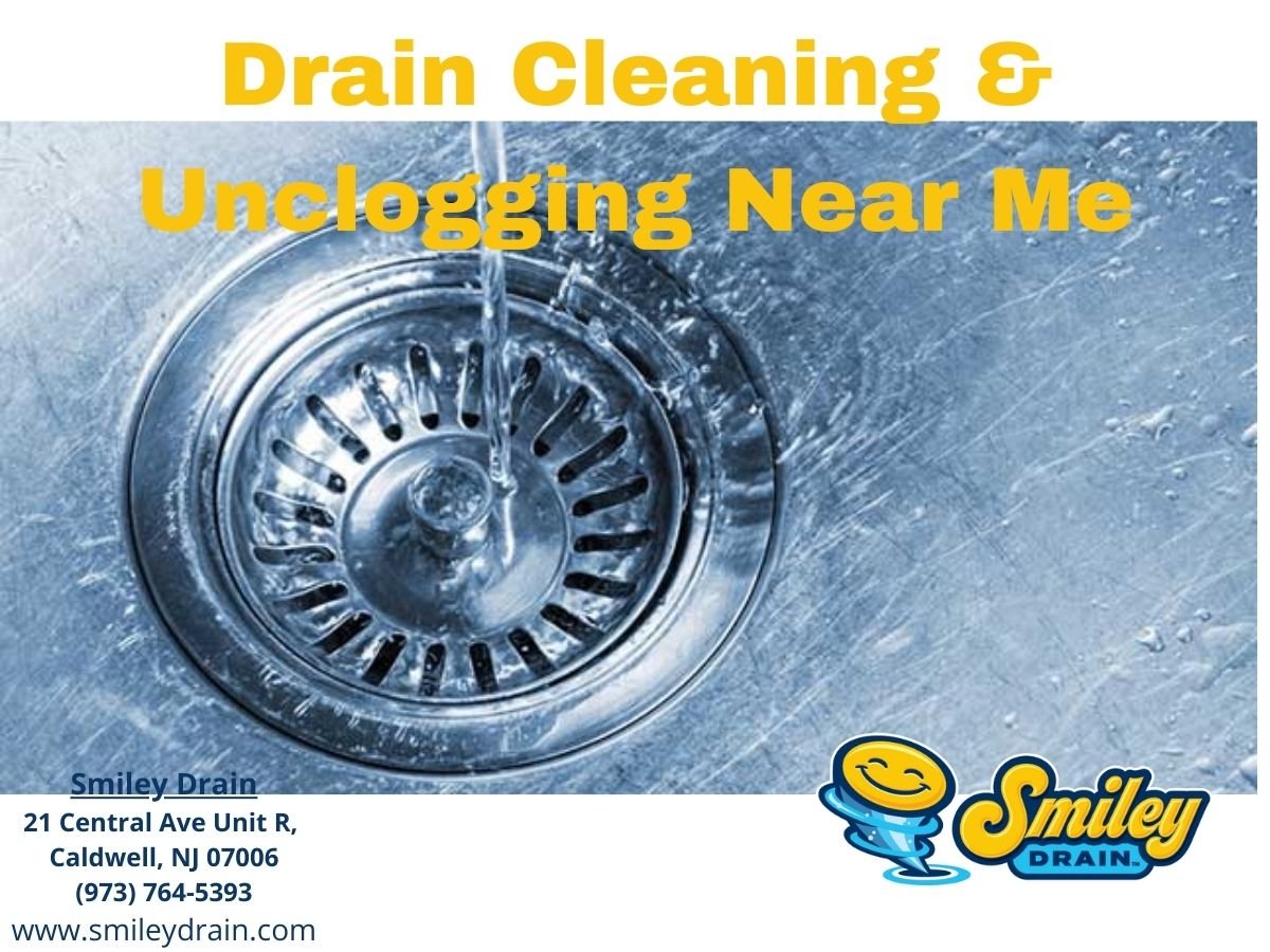Drain Cleaning and Unclogging Services in New Jersey