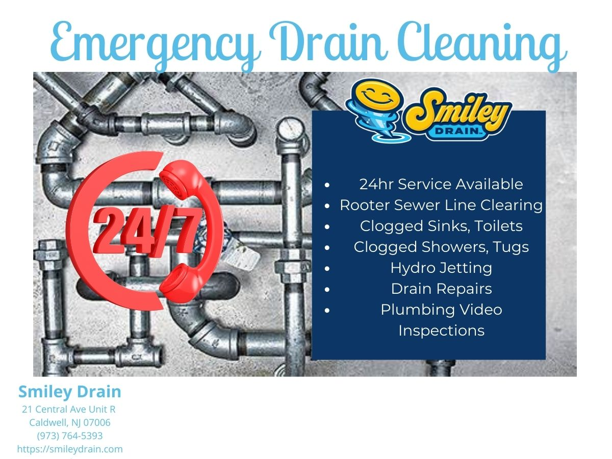 Emergency Drain Cleaning New Jersey For Clogged Drain & Rooter Services