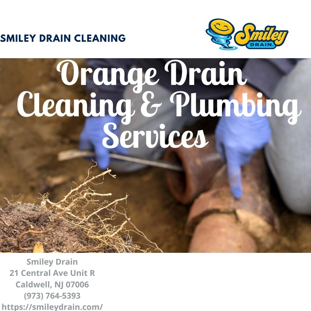 Orange, NJ sewer & drain cleaning plumbing working on a hydro jetting project clearing a blocakage in pipe.