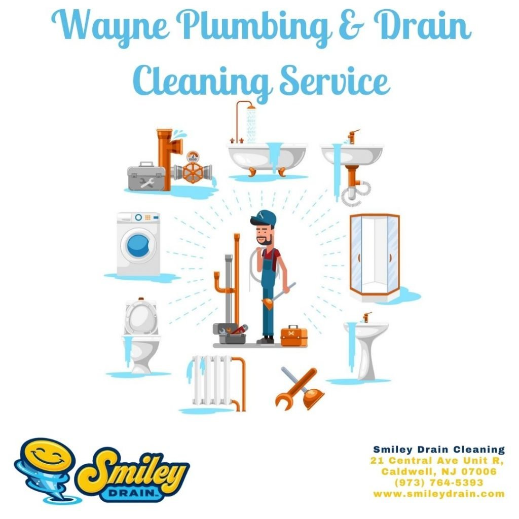 Wayne Plumbing & Drain Cleaning Service, bathroom, sink, sewer, and more